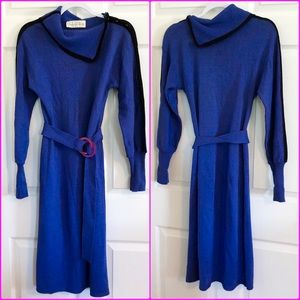 Vintage Oscar De La Renta knit sweater dress 6